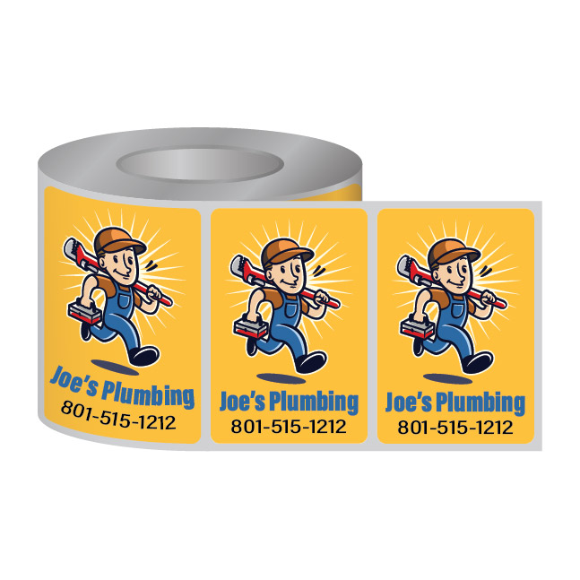 Picture of Roll Stickers